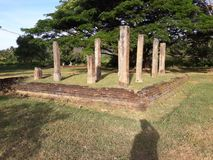 Dematamal Viharaya, Buttla, Шри-Ланка стоковое изображение