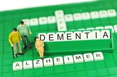 Demencia Imagen de archivo