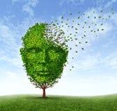 Demencja ludzcy Problemy ilustracja wektor