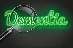 dementia vektor abbildung