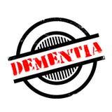 Dementia rubber stamp Stock Photo