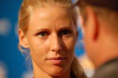 Dementieva Elena portrait at US Open 2008 (50) Royalty Free Stock Photos