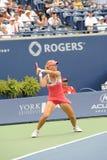 Dementieva Elena at Rogers Cup 2009 Stock Photo