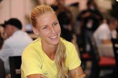 Dementieva Elena at Rogers Cup 2009 (12) Stock Photos