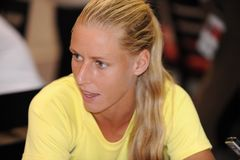 Dementieva Elena at Rogers Cup 2009 (5) Stock Photos
