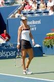 Dementieva Elena in SF of US Open 2008 (13) Stock Image