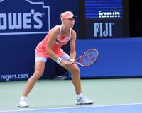 Dementieva - wins final round of Rogers Cup Royalty Free Stock Photos