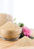 Demerara Sugar -vertical Stock Image