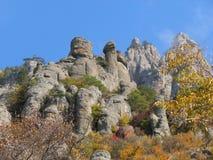 Mountain Demerdji - Ghost Valley - Alushta, Russia stock photos