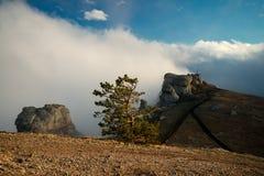 Demerdzhi mountain top Royalty Free Stock Photography