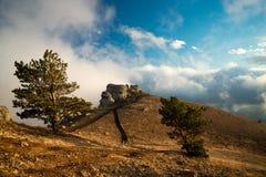 Demerdzhi mountain top Stock Photo