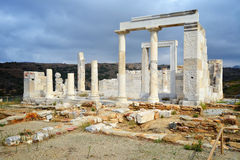 Demeter temple, Naxos Royalty Free Stock Photo