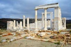 Demeter temple, Naxos Royalty Free Stock Photo
