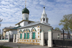 Demetrios Church in Yaroslavl, Russia stock photography