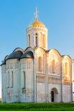 Demetrius大教堂在市Vladimir。 免版税库存图片