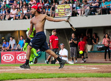 Demetrius Andrade at the plate. Stock Photography