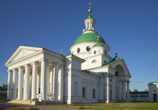 Demetrius Cathedral in Spaso-Yakovlevsky monastery. Rostov The Great Stock Photography