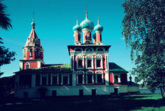Demetrius on spilled blood uglich Stock Images