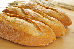 Demi baguettes Royalty Free Stock Photos