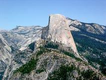 Demi dôme en parc national de Yosemite, la Californie, Etats-Unis photo stock