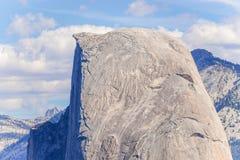 Demi dôme en parc national de Yosemite, la Californie, Etats-Unis Images libres de droits
