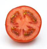 demi de blanc de tomate de fond Photos libres de droits