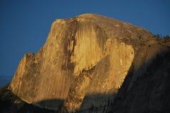 Demi de coucher du soleil de dôme Photo stock