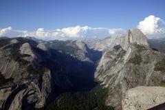 Demi de dôme de point de glacier Photos libres de droits