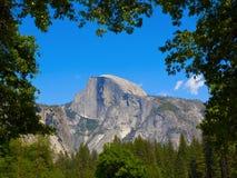 Demi de dôme de Yosemite Photos libres de droits