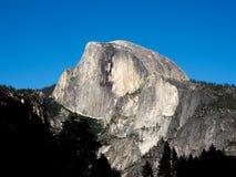 Demi de dôme dans Yosemite Photo libre de droits