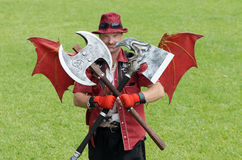 Demi de dragon Photos stock