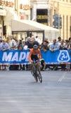 Demi de jong, championsh del mundo del camino de Nederlands.UCI Foto de archivo