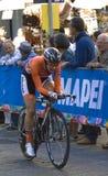 Demi de jong, championsh för Nederlands.UCI-vägvärld Royaltyfria Bilder