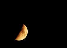 Demi de lune Image stock