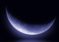 Demi de lune Images libres de droits