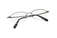 demi de lunettes de trame Photos stock