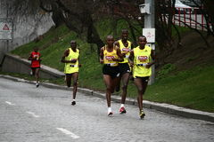 Demi de marathon de Hervis Prague Photographie stock libre de droits