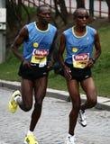 Demi de marathon de Hervis Prague images libres de droits