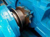 Demi-essieu d'accouplement de roue à aubes images stock