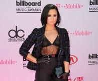 Demi Lovato Lizenzfreies Stockfoto