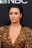 Demi Lovato. At the 2018 Billboard Music Awards held at the MGM Grand Garden Arena in Las Vegas, USA on May 20, 2018 stock photos