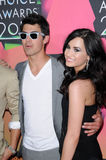 Demi Lovato,Joe Jonas Stock Photography