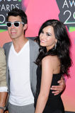 Demi Lovato,Joe Jonas Royalty Free Stock Images