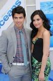 Demi Lovato,Joe Jonas Stock Photos
