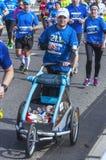 Demi marathon 2016 de Varsovie Photographie stock libre de droits