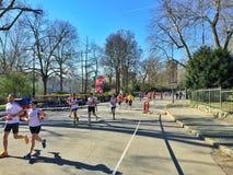 Demi marathon Torino de Santander Images stock