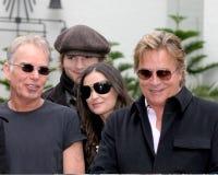 Demi Moore,Don Johnson,Ashton Kutcher,Billy Bob Thornton Royalty Free Stock Photo