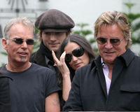 Demi Moore,Don Johnson,Ashton Kutcher,Billy Bob Thornton,Billy BOBS Thornton,Bruce Willis Royalty Free Stock Image