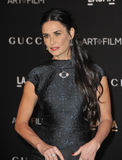 Demi Moore. LOS ANGELES, CA - NOVEMBER 1, 2014: Demi Moore at the 2014 LACMA Art+Film Gala at the Los Angeles County Museum of Art Royalty Free Stock Photography
