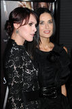 Demi Moore,Rumer Willis Royalty Free Stock Image